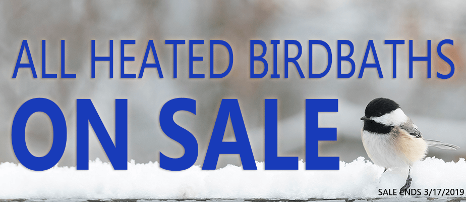 All Heated Birdbaths on Sale!