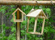 Tricks for hanging a bird feeder